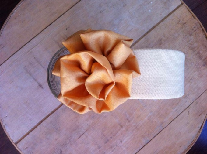 Fabric Covered Headbands 2″