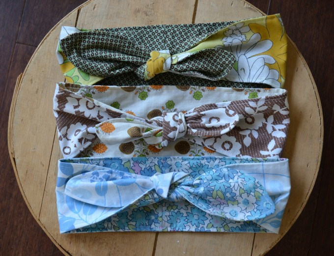 Retro Hair Scarves
