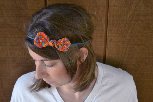 Fabric Bow Headwraps