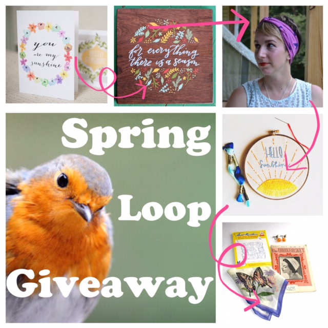 loop giveaway group photo
