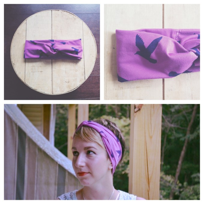 purple turban for giveaway